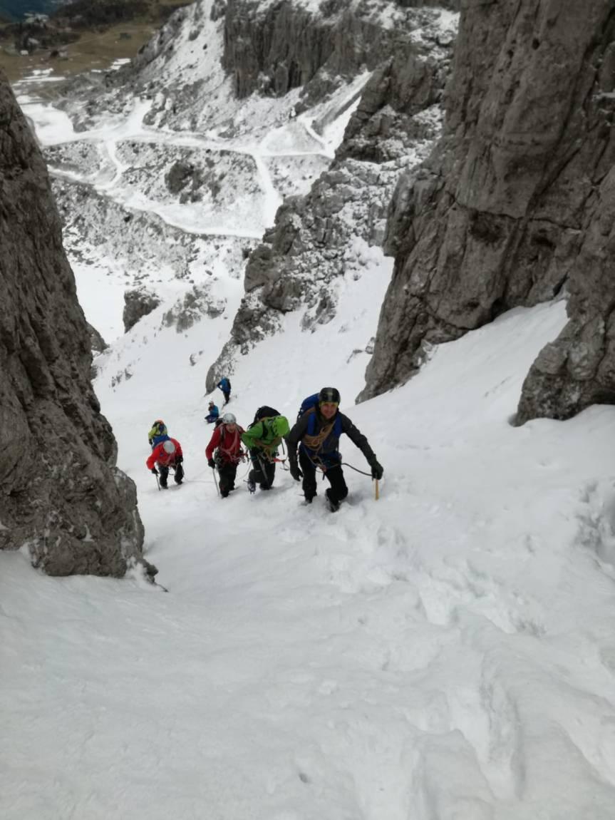Corso di Alpinismo – Canale deiCamosci